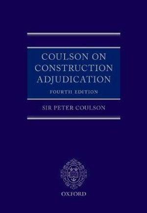 Coulson on Construction Adjudication
