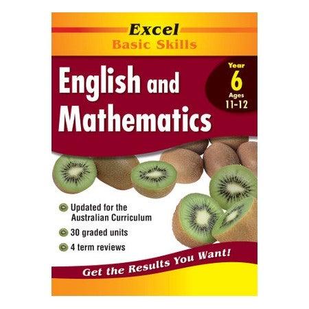 English and Mathematics Workbook Year 6 : Excel Basic Skills
