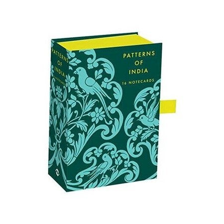 Patterns of India : Box of 16 Notecards