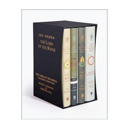 The Lord of the Rings Boxed Set - 4 x Hardcover Books : Including the fourth book, A Reader's Companion