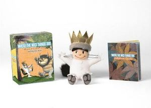Where the Wild Things Are - Max Plush Toy and Sticker Book : Miniature Book & Soft Toy