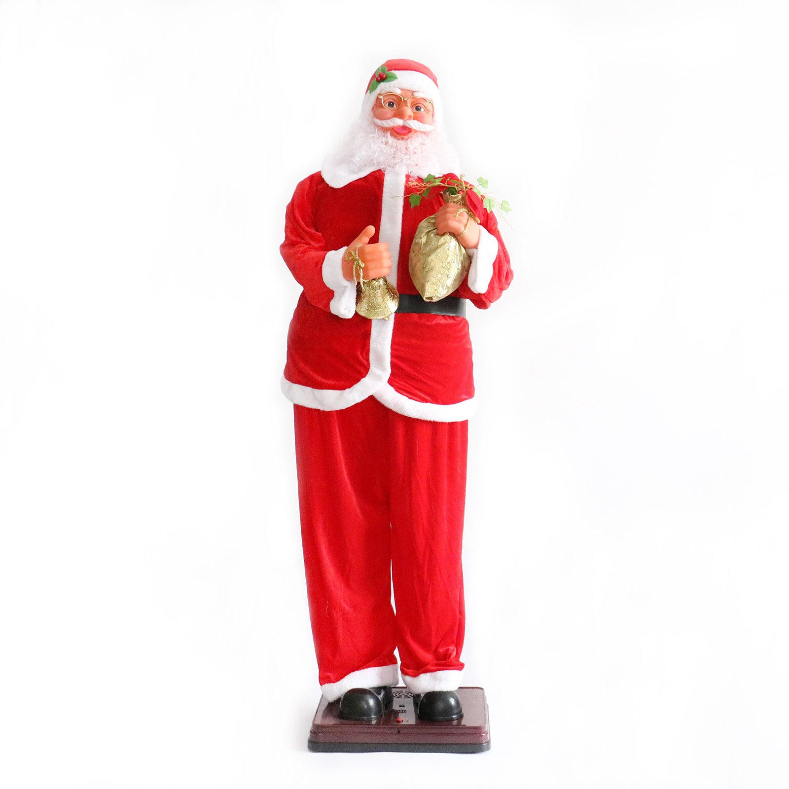 Singing Dancing Santa - 6ft / 180cm