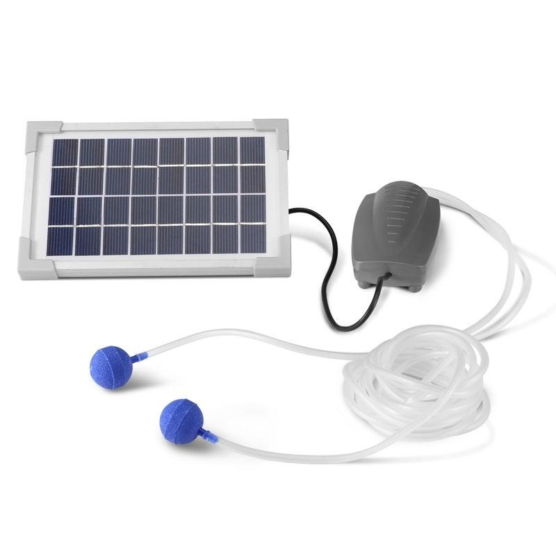Solar Powered Fresh Air Pump for Pond Pool Fish