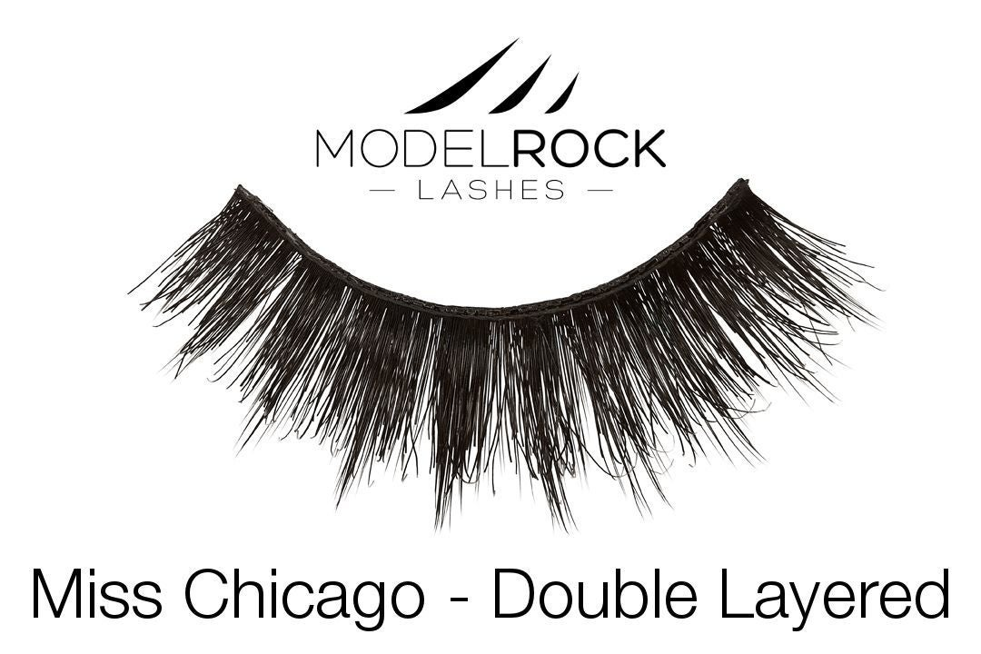MODELROCK Lashes Miss Chicago - Double Layered Lashes