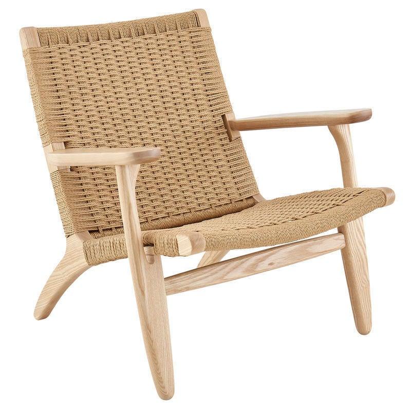 DukeLiving Hans Wegner Replica CH25 Easy Woven Chair