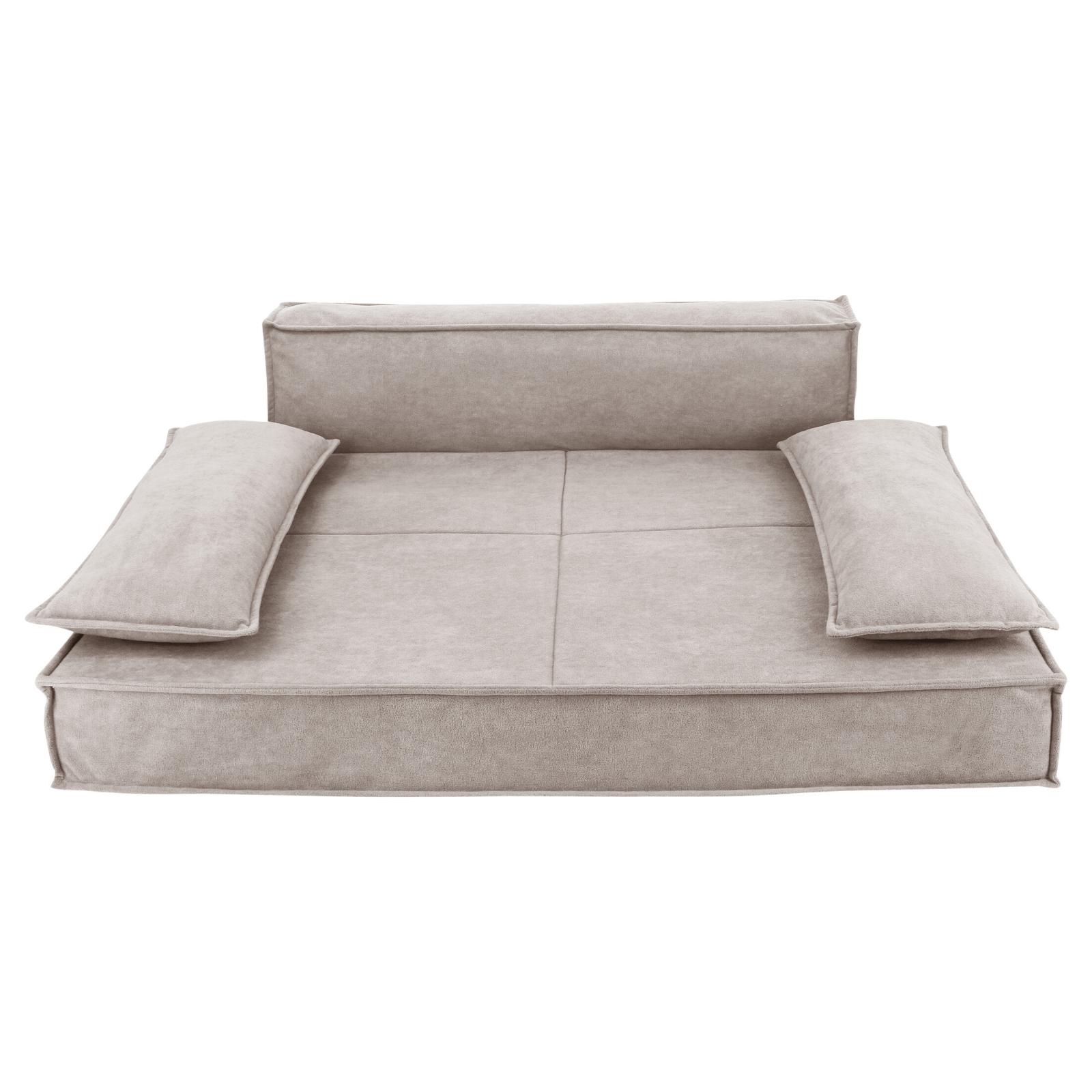 Orthopedic Sofa Pet Bed in Oatmeal