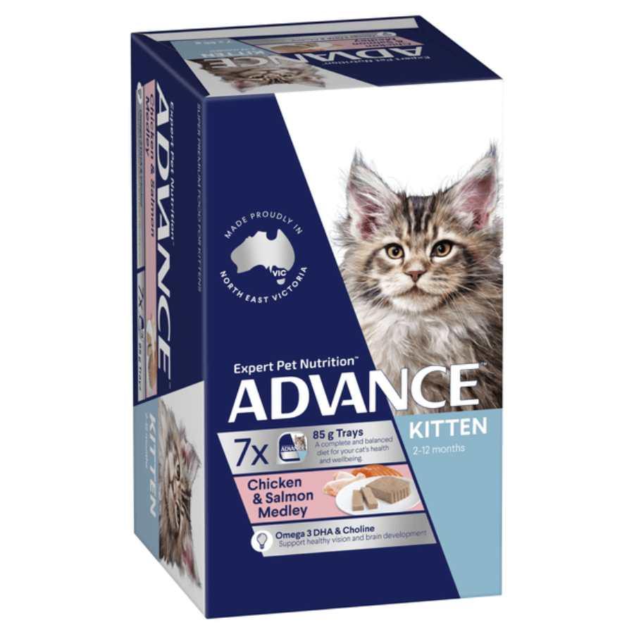 Advance Kitten Salmon Chicken