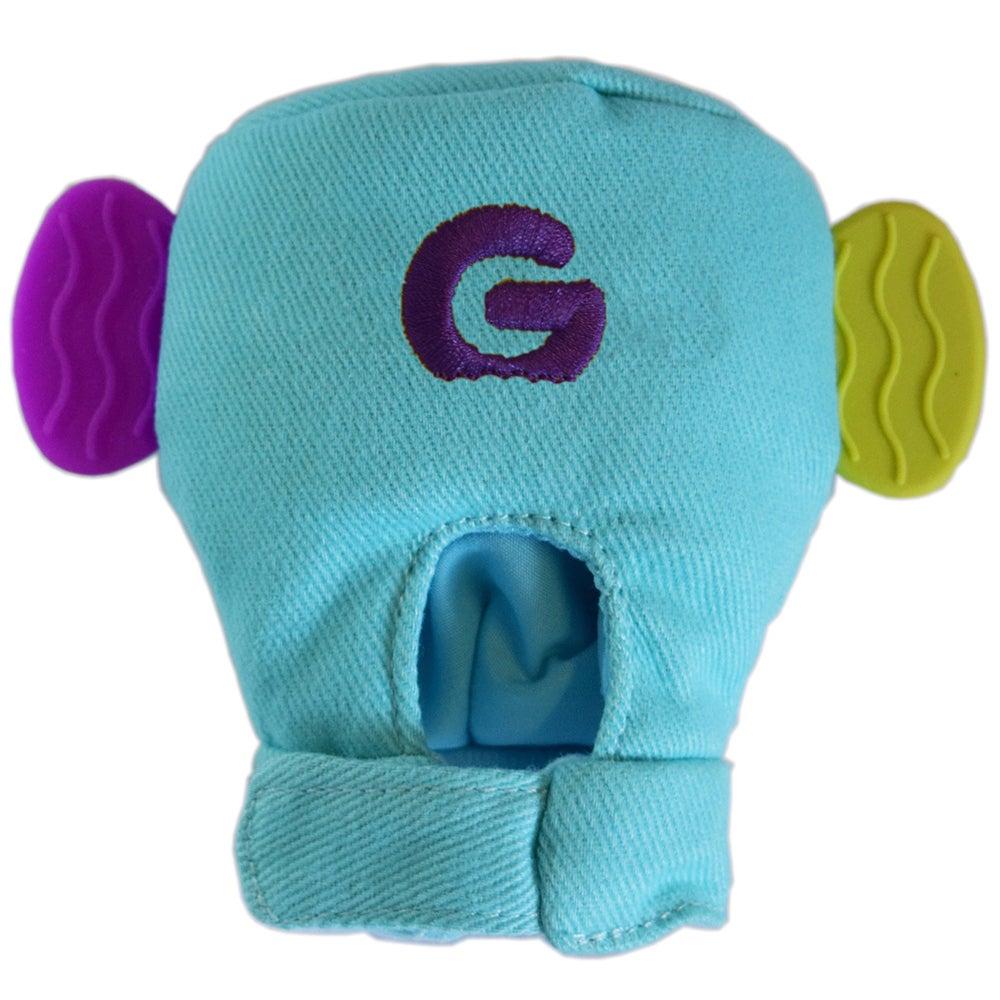 Gummee Glove Baby Mitten Teether Turquoise