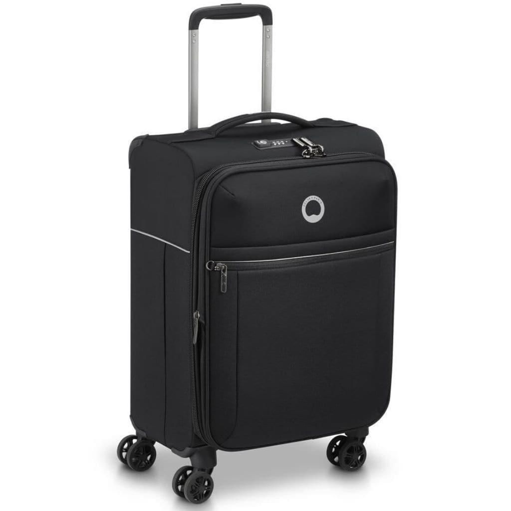 Delsey BROCHANT 2.0 55cm Carry On Softsided Luggage - Black