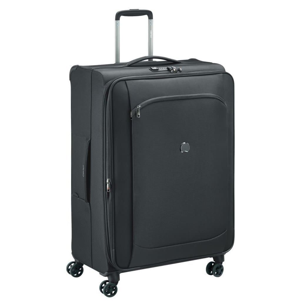 Delsey Montmartre Air 2.0 77cm Large Softsided Luggage - Black