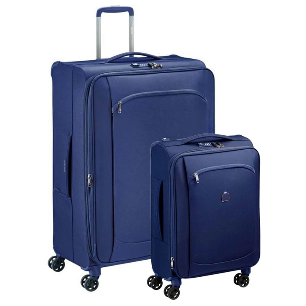 Delsey Montmartre Air 2.0 Softsided Luggage 2 Piece Duo - Navy