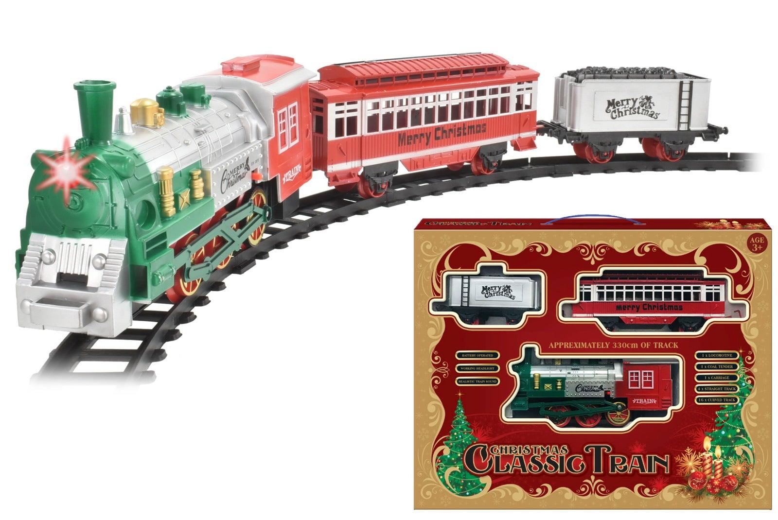 Christmas Classic Model Train Set B/O