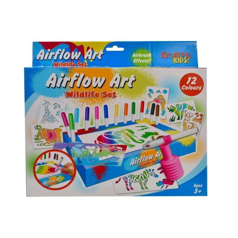 Wildlife Air Flow Pens Playset
