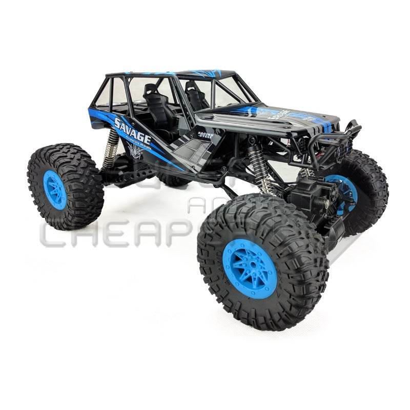 2.4G 1 10 Scale Rc Monster 4Wd Rc Truck Electric Wl Toys 10428-D 4Wd Rock Climbing Truck