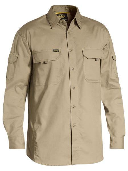 Bisley Mens X Airflow™ Ripstop Work Shirt (BS6414)