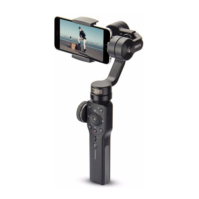 Zhiyun Smooth 4 3-Axis Handheld Gimbal (Smartphone Stabiliser) - Black