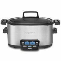 Cuisinart MSC-600A 5.7L Electric 3 in 1 Multi Slow/Fast Cooker w/Steaming Rack