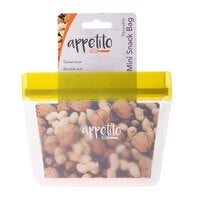 Appetito 14.5cm Reusable Mini Snack Nuts/Food Storage Fruit Seal Zip Lock Bag
