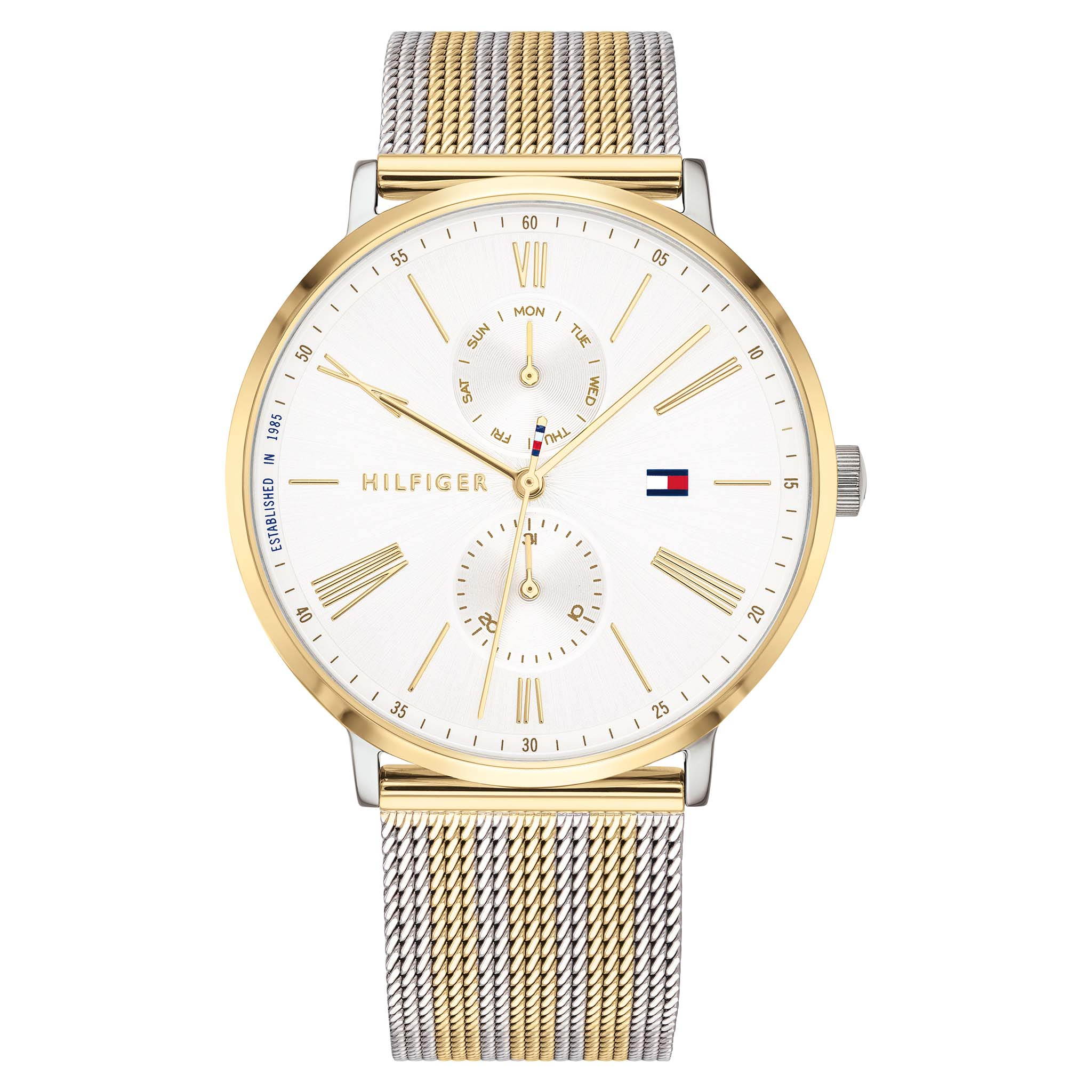 Tommy Hilfiger Two-Tone Mesh Ladies Watch - 1782074