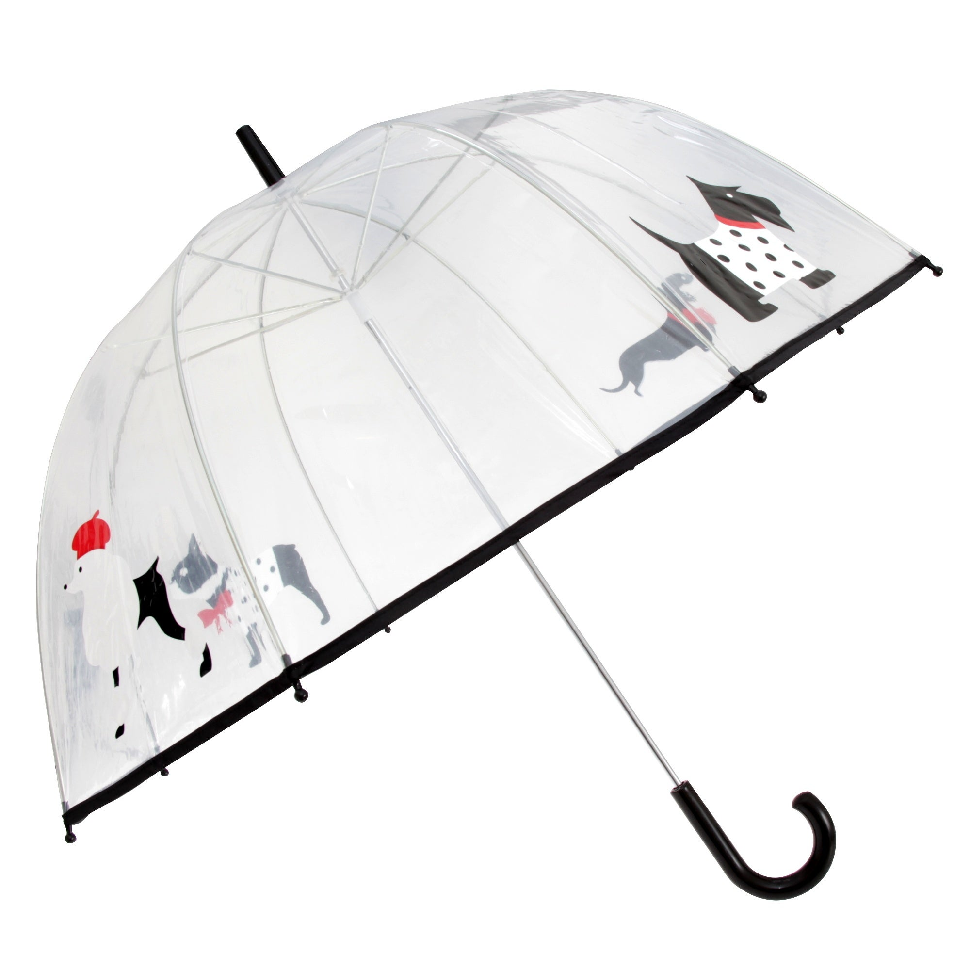 Drizzles Adults Unisex Dome Dog Umbrella