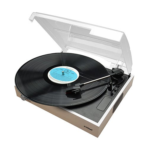 mbeat® Wooden Style USB Turntable Recorder MB-USBTR68