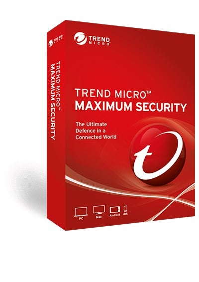 Trend Micro Maximum Security (1 Devices) 12mthRetail Mini Box TICEWWMDXSBWEF