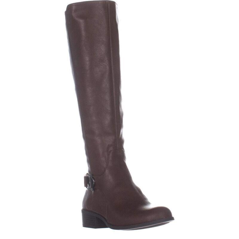 Alfani Womens Kallumm Leather Closed Toe Ankle Riding Boots US
