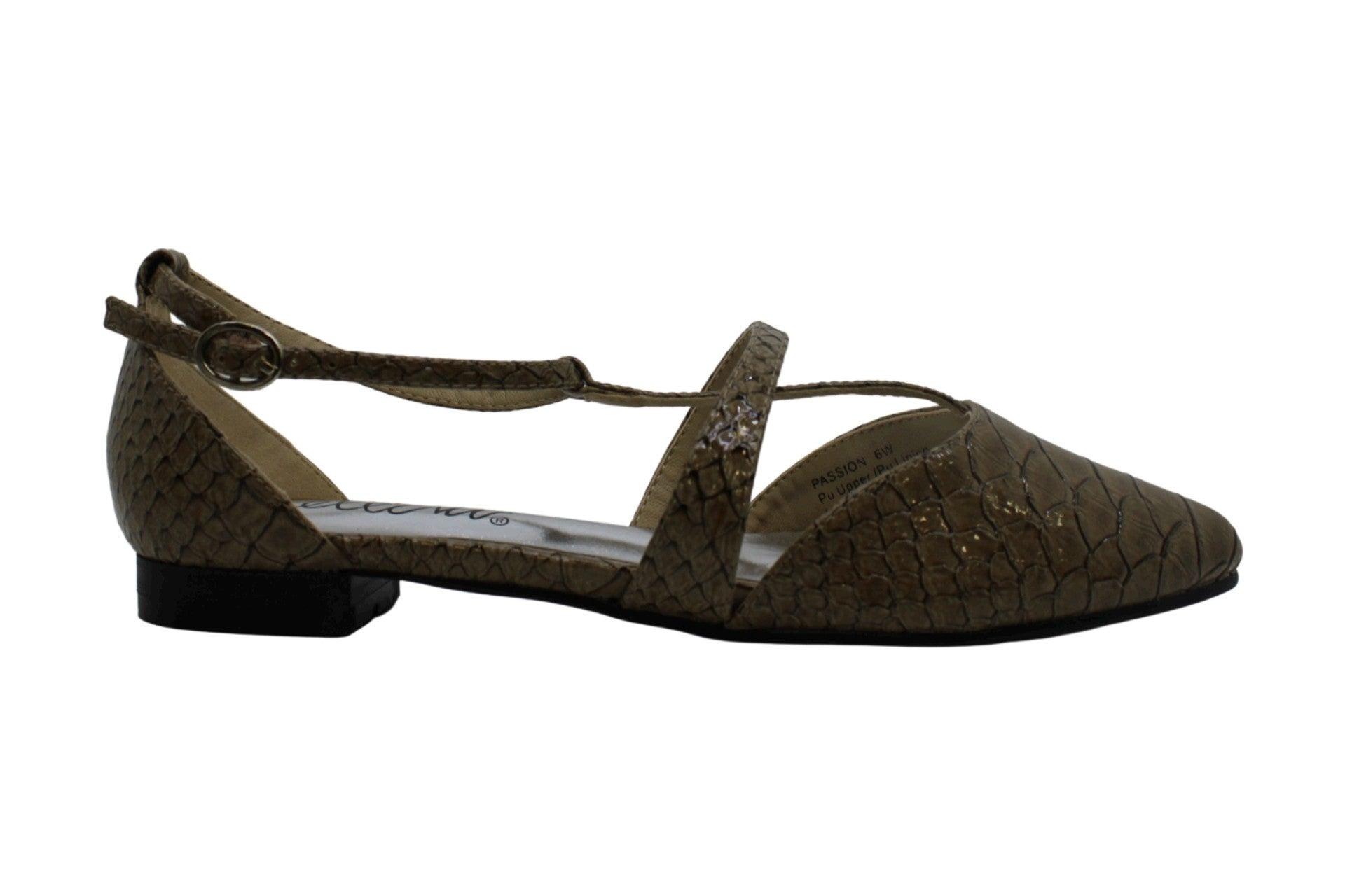 Bellini Womens Passion Pointed Toe Casual Ankle Strap Sandals US