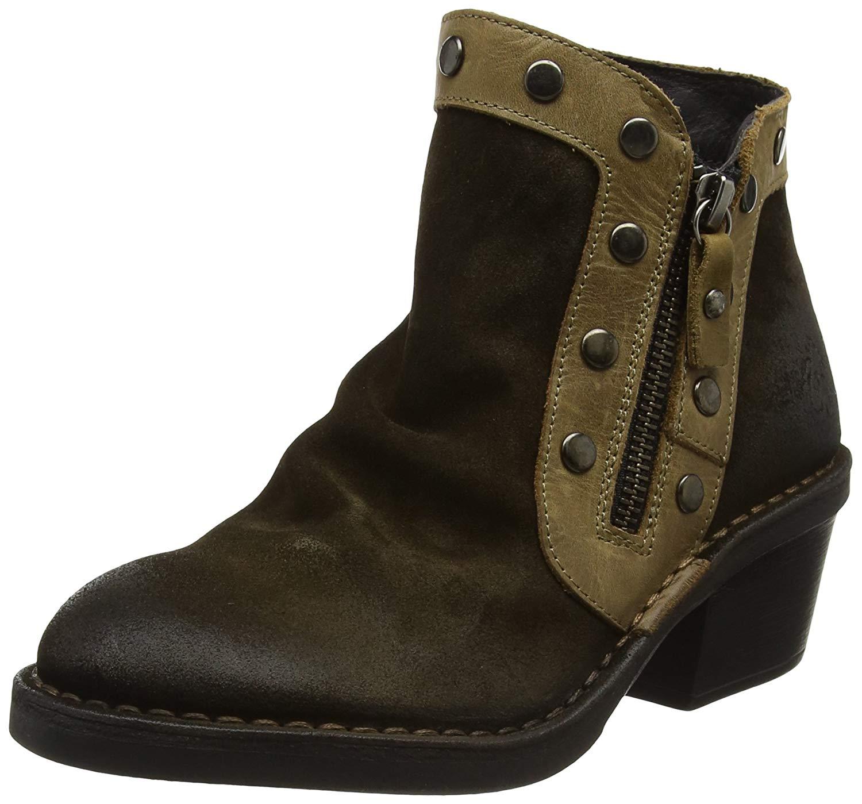 Fly Loundon Womens Duke Closed Toe Ankle Fashion Boots US