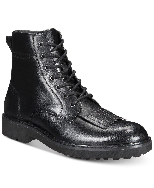 INC International Concepts Mens Brix Kiltie Leather Boots US