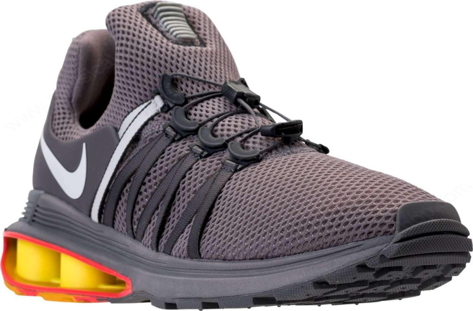 Nike Mens Shox Gravity Fabric Low Top