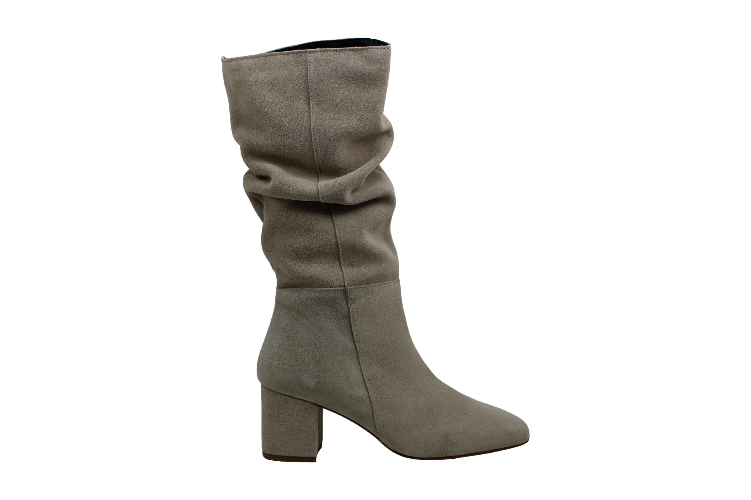 Steven by Steve Madden Womens Dilemma Suede Square Toe Mid-Calf Fashion Boots US