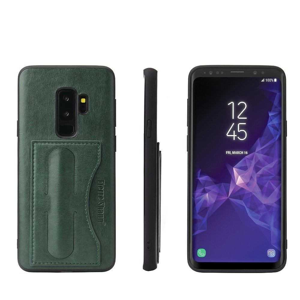 For Samsung Galaxy S9+ PLUS Case FS Luxury Durable Protective Cover,Green