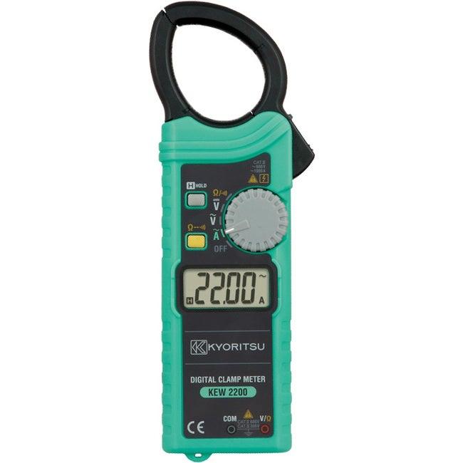 2200 KYORITSU Ultra Slim Clamp Multimeter 1000Amp Ac Kyoritsu 1000A Ac Clamp Meter ULTRA SLIM