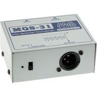 MQS31 MCLELLAND Mic Splitter Combiner Input Impedance: 600Ω MIC SPLITTER COMBINER