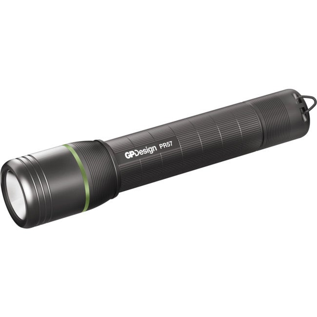 GPPR57 GP DESIGN Powerful Rechargeable Torch 1000 Lumen - Ipx4 Made of Durable Aircraft Grade