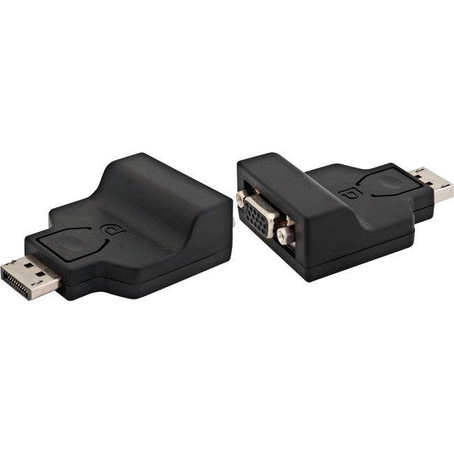 PA4360 Pro2 Displayport To VGA Adaptor Displayport 20-Pin Plug To VGA Hdb 15-Pin Socket