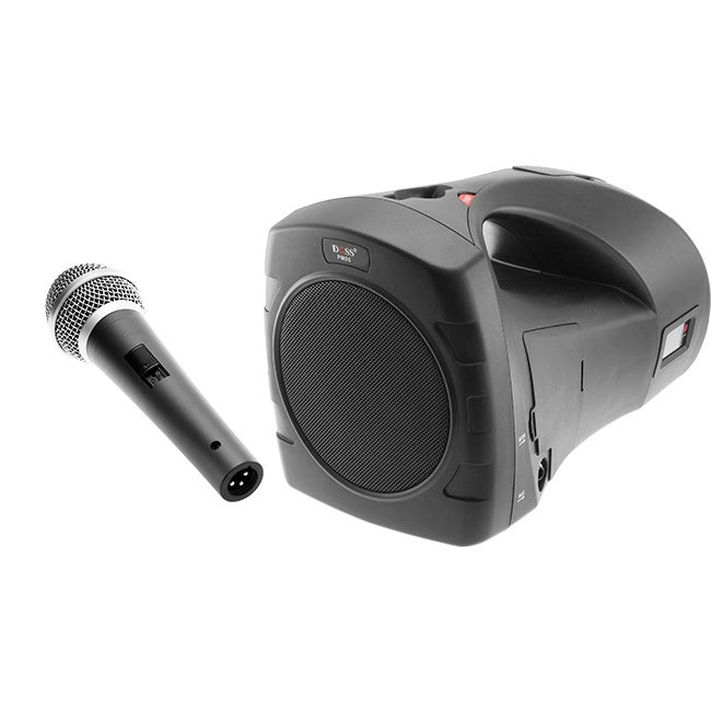 PM55B DOSS Portable Sound System W/ Wired Microphone / Bag / Mp3 27W Output Power Brings You