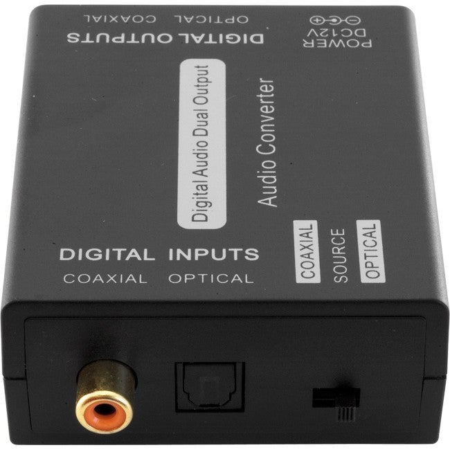 PRO1287 Pro2 Dual Digital Audio Converter Optical (Toslink) & Coaxial Input Selectable Via Switch