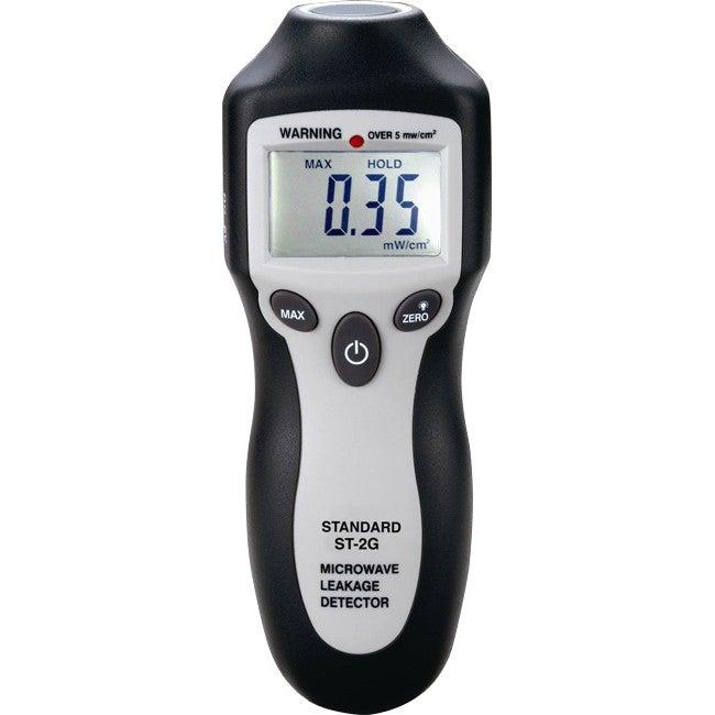 ST2G STANDARD Microwave Leakage Detector LCD Digital Readout MICROWAVE LEAKAGE DETECTOR