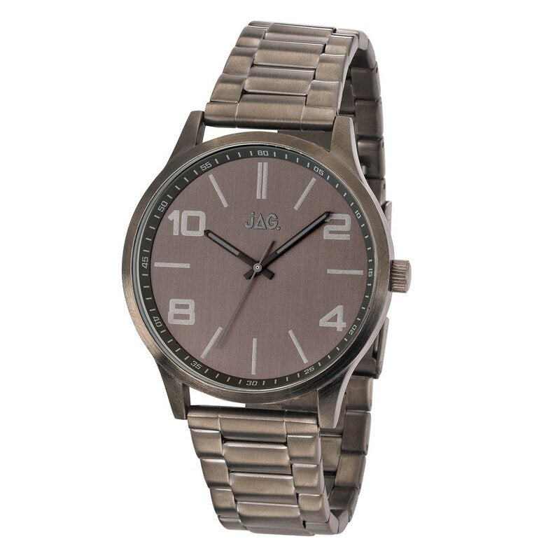 Jag Mitchell Men's Grey Watch Model-J1899A 9342307009098 Silver