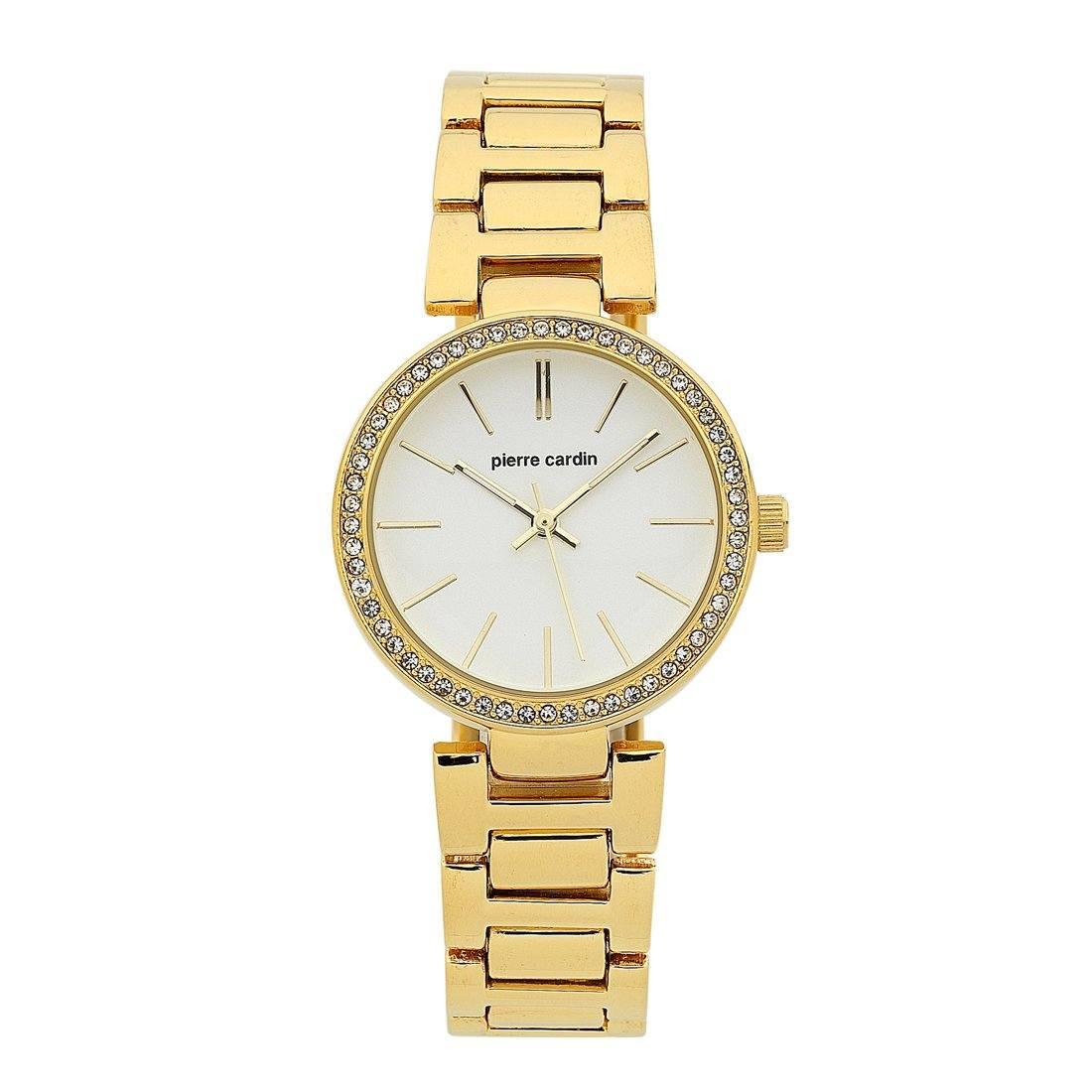 Pierre Cardin Gold Ladies Watch 5704 Stainless Steel
