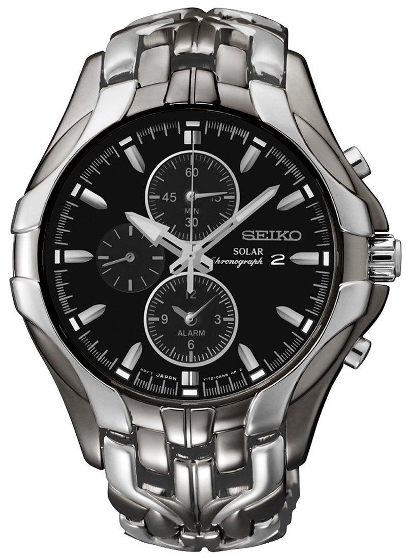 Seiko Mens Chronograph Watch Model- SSC139P-9 Alarm-Chronograph-Date-Multi Dial 29665165091