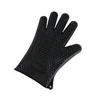 2PCS Of Silica Gel Gloves Kitchen Five Fingers Baking Insulation Anti-scalding Gloves