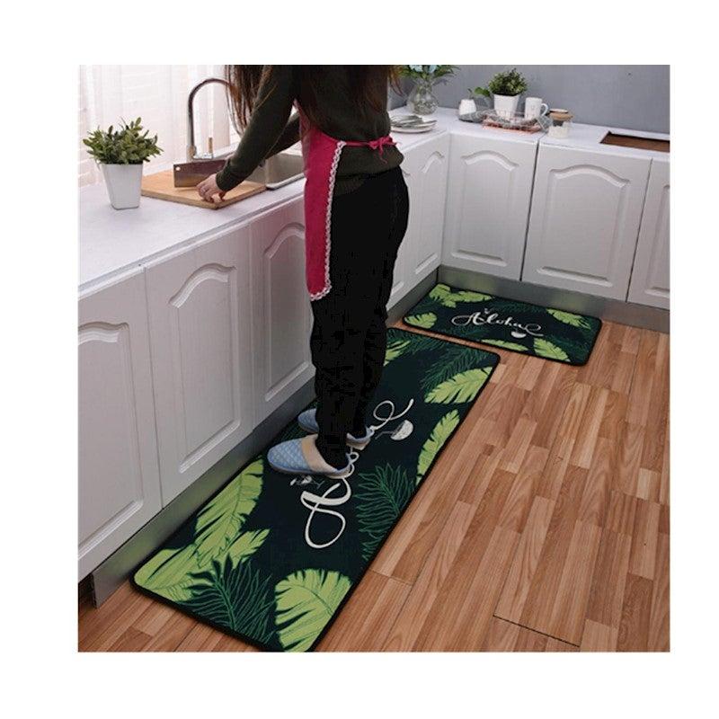Non Slip Kitchen Floor Mat Doormat Runner Rug Set   9 ...