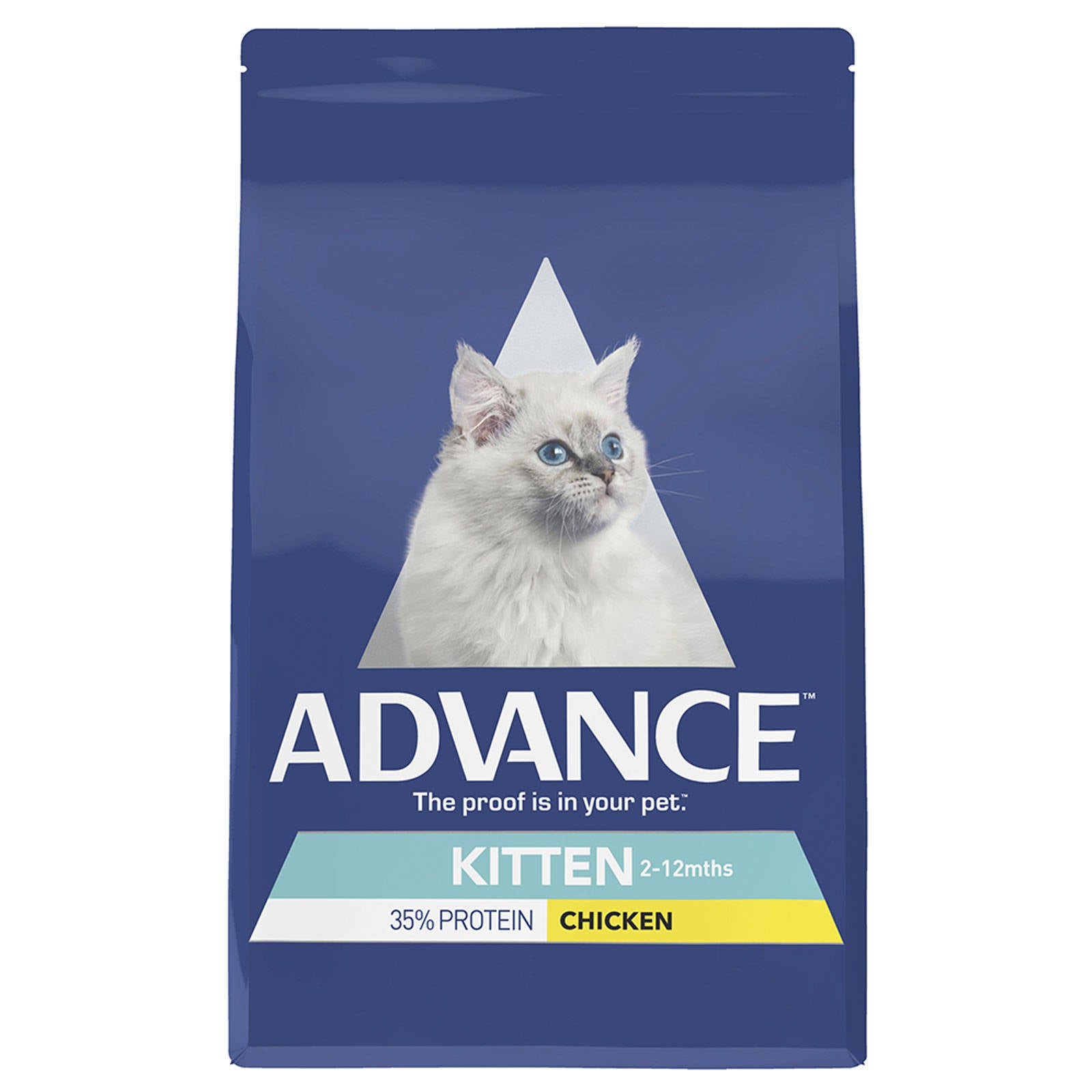 Advance Kitten Food Growth Chicken 6kg Premium Pet Food Nutrition