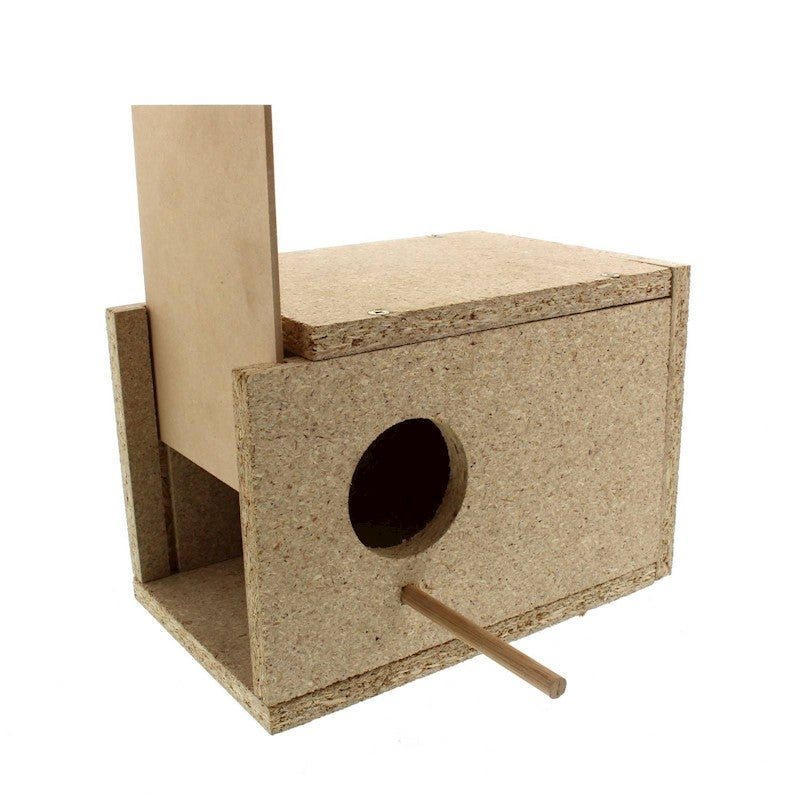 All Pet Nest Box Budgie Single 23x23x14 Nesting House High Quality Strong Built