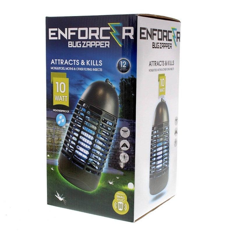 Bug Zapper Enforcer 10 Watt Weatherproof 365nm UVA Light Output Powerful