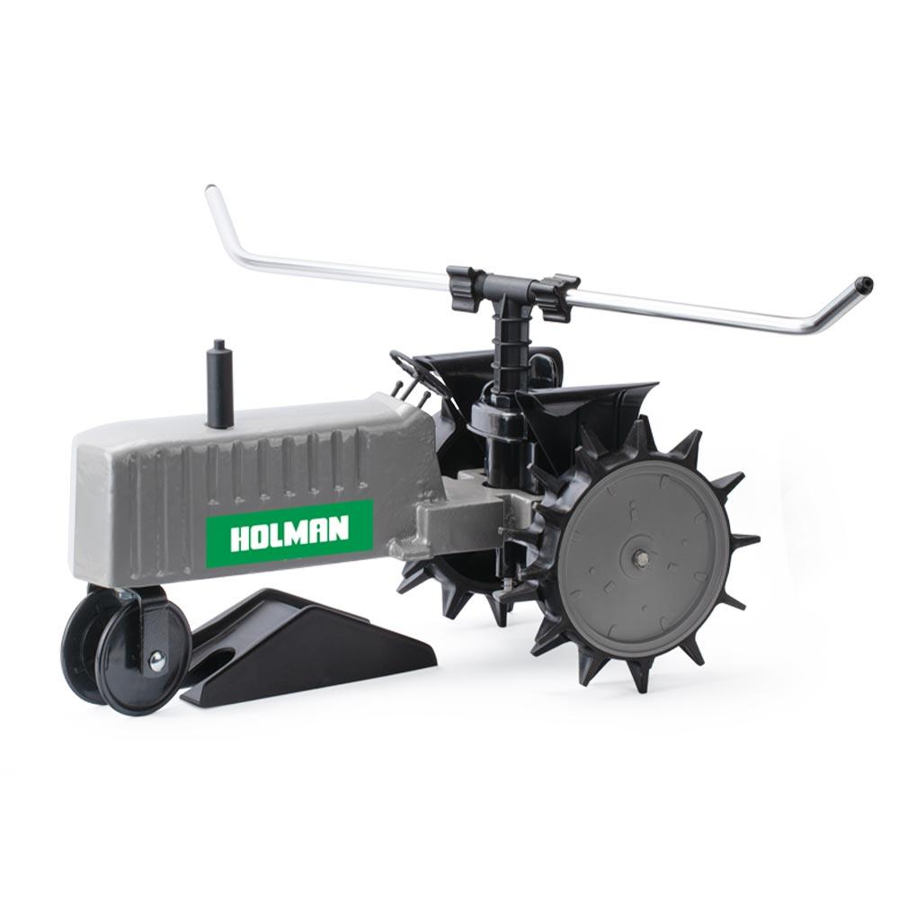 Holman Travelling Sprinkler Irrigation Grass Tractor Self Propelled Large Lawns