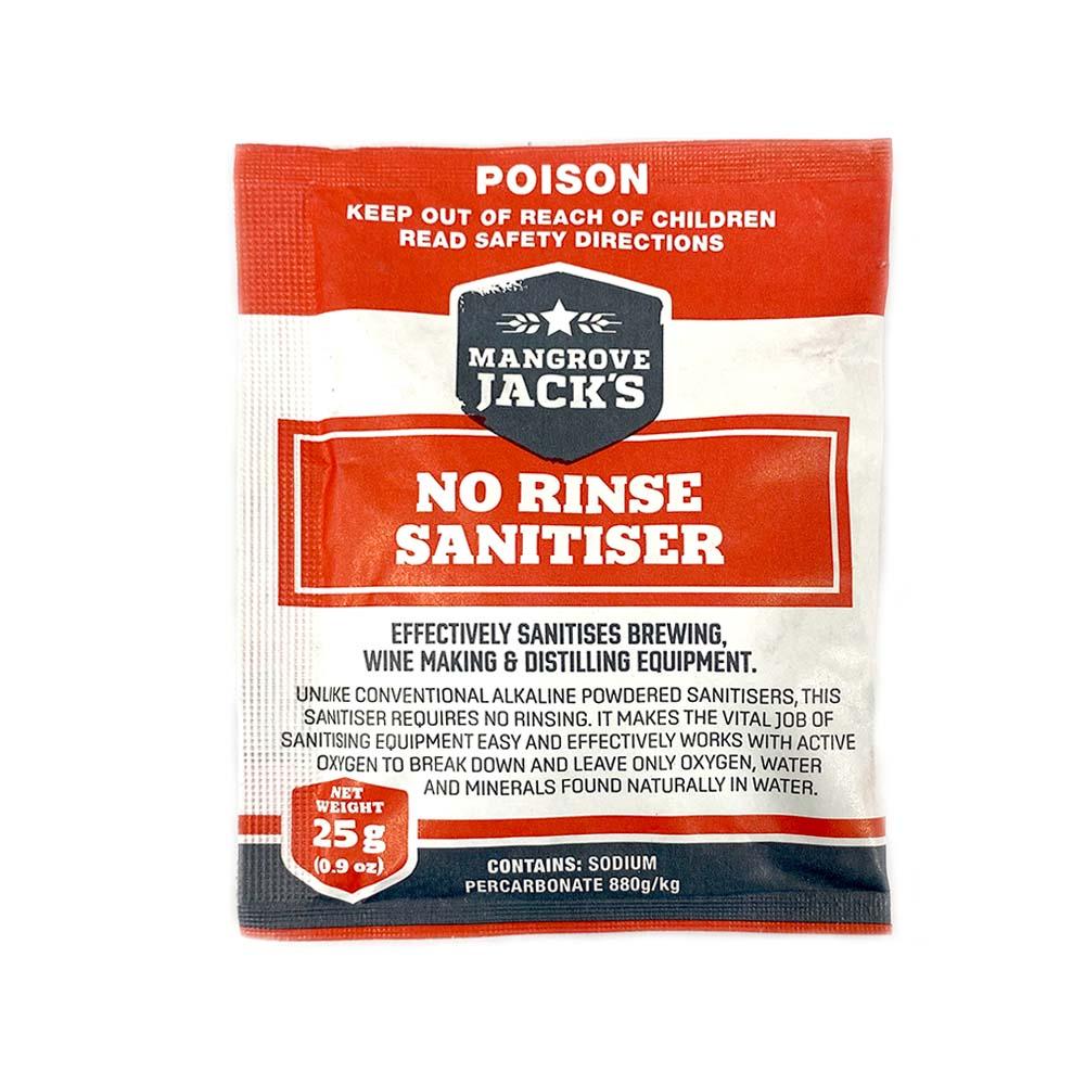No-Rinse Sterilizer 25g Packet Mangrove Jacks Home Brew